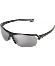 Cebe Wild skinnende sorte solbriller