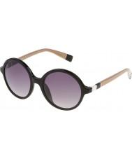 Furla Ladies lola su4966-700y skinnende sorte solbriller