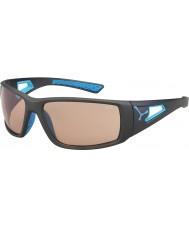 Cebe Session matt grå blå variochrom PERFO solbriller