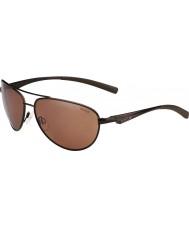 Bolle Columbus matt brun polarisert sandstein pistol solbriller