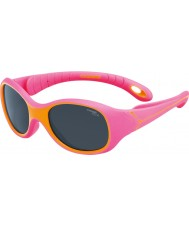 Cebe S-Kimo (alder 1-3) fuchsia oransje solbriller