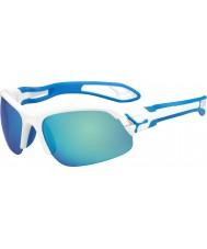 Cebe Cbspring3 s-pring hvite blå solbriller