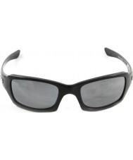 Oakley Oo9238-06 femmere squared polert svart - svart iridium polarisert solbriller