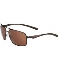 Bolle Brisbane matt brun polarisert a-14 solbriller