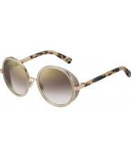 Jimmy Choo Ladies Andie-s J7a nh gullnaken Havana gull speil solbriller