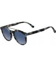 Lacoste L821s asurblå Havana solbriller