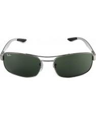 RayBan Rb8316 62 tech karbonfiber våpenmetall grønne 004 solbriller