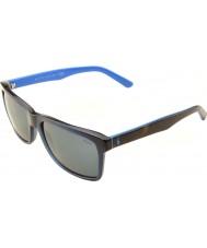 Polo Ralph Lauren Ph4098 57 uformell levende gjennomsiktige blå 556387 solbriller