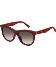 Marc Jacobs Ladies marc 118-s ope k8 burgunder solbriller