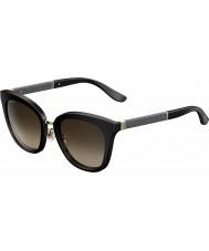 Jimmy Choo Ladies Fabry-Koreas FA3 J6 svart glitrende solbriller