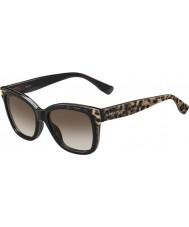 Jimmy Choo Ladies bebi-s PUE J6 dyre sorte solbriller