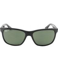 RayBan Rb4181 57 highstreet svart 601-9a polariserte solbriller