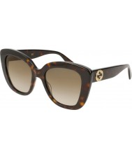 Gucci Ladies gg0327s 002 52 solbriller
