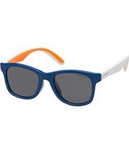 Polaroid Barn pld8001-s t20 y2 blå polariserte solbriller