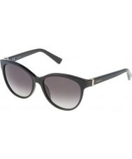 Nina Ricci Ladies snr003-700 skinnende sorte solbriller