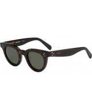 Celine Ladies cl 41375-s 086 85 mørke Havana solbriller