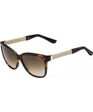 Jimmy Choo Ladies Cora-s fa5 jd havana glitter solbriller