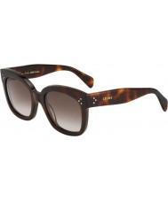 Celine Ladies cl 41805-s 05l ha skilpaddeskjell, solbriller