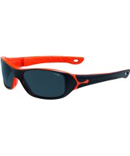 Cebe S-picy (alder 7-10) matt sort oransje solbriller