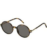 Marc Jacobs Mens Marc 48-s TLR 8t Havana solbriller