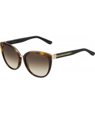Jimmy Choo Ladies dana-s 112 jd Havana solbriller
