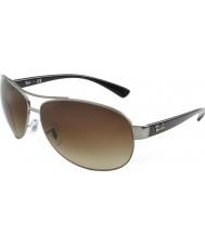 RayBan Rb3386 67 aktiv livsstil våpenmetall 004-13 solbriller