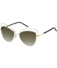 Marc Jacobs Ladies marc 8-s apq ha gull mørke Havana solbriller