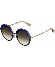 Jimmy Choo Ladies gotha-Koreas 3UE js blå gull solbriller