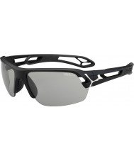 Cebe S-spor mellom matt svart variochrom PERFO solbriller