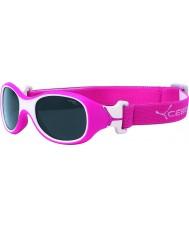 Cebe Chouka (alder 1-3) bringebær solbriller