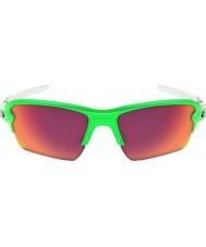 Oakley Oo9188-43 flak 2,0 xl grønn fade - Prizm felt solbriller