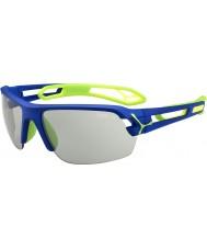 Cebe S-spor medium mørk blå grønn variochrom PERFO solbriller