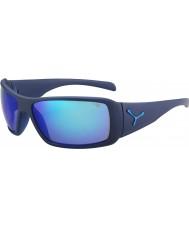 Cebe Utopy matt blå 1500 grå flash speil blå solbriller