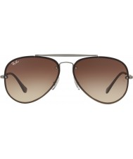 RayBan Rb3584n 61 00413 blaze aviator solbriller