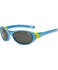 Cebe Cricket (alder 3-5) krystall blå lime solbriller