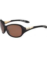 Bolle Grace matt sort polarisert sandstein pistol solbriller