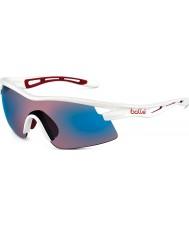 Bolle Vortex skinnende hvit rose blå solbriller