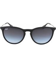 RayBan Rb4171 54 erika gummi svart 622-8g solbriller