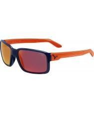 Cebe Dude skinnende blå oransje solbriller