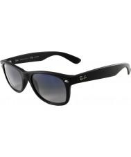 RayBan Rb2132 55 nye wayfarer mattsvarte 601s78 polariserte solbriller