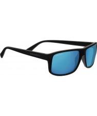 Serengeti Claudio sateng mørk grå polarisert 555nm blå speil solbriller