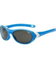 Cebe Cricket (alder 3-5) matt cyan hvite 1500 grå blått lys solbriller