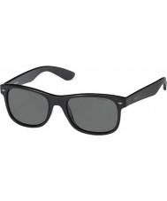Polaroid Pld1015-s D28 y2 skinnende sorte polariserte solbriller