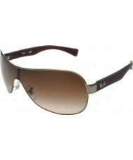 RayBan Rb3471 32 unggutten matte gunmetal 029-13 solbriller