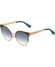Jimmy Choo Ladies Ora-s psx u3 gull militære grønne solbriller