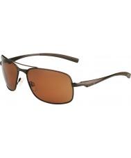 Bolle Skylar matt brun polarisert sandstein pistol solbriller