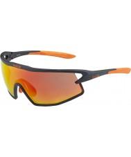 Bolle B-rock matt svart og oransje TNS brann solbriller