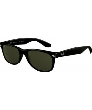 RayBan Rb2132 52 nye wayfarer sorte 901-58 polariserte solbriller