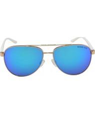 Michael Kors Mk5007 59 sporty rose gull hvit 104525 solbriller