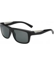 Bolle Clint skinnende svart polarisert TNS solbriller